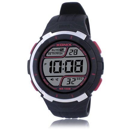 TOP Men Sports Watches Waterproof 100m Outdoor Fun Multifunction Digital Watch Swimming Diving LED Wristwatch Montre Homme GS 2017 top brand shockproof waterproof diving watch men sport swim watches 100m water resistant for dive wristwatch swimming