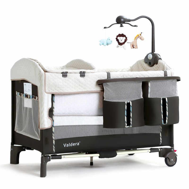 רב תכליתי מתקפל עריסות אירופאי נייד משחק מיטת bb מיטת תינוק מיטות חדש עריסות