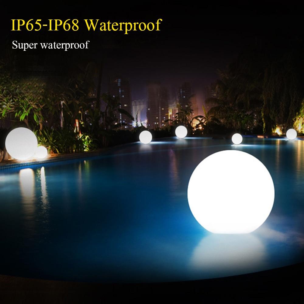 Led Glow Dome Light Diameter 20cm Outdoor Waterproof
