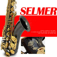 Brand New Genuine France Selmer Tenor Saxophone 802 Professional BB Black Nickel Gold Sax Mouthpiece With