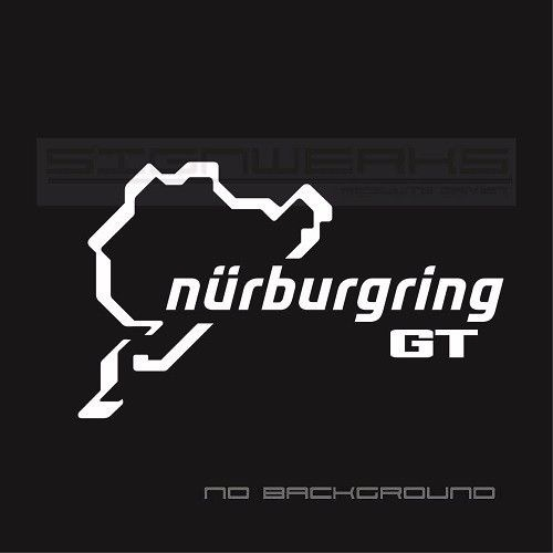 Car Styling For Pcs Pair Gt Nurburgring Decal Sticker Logo Emblem Ford Gt Mustang F