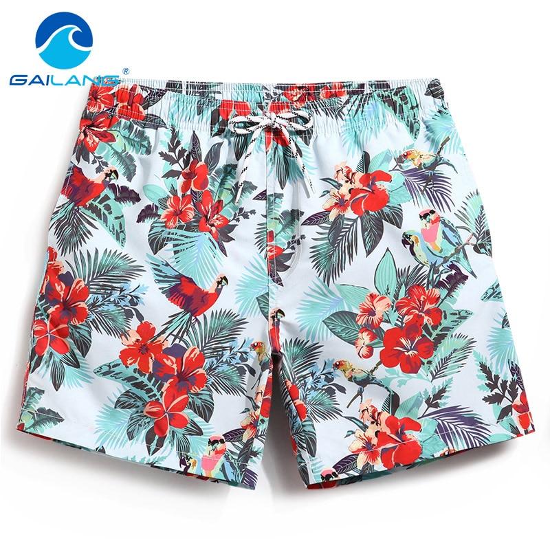 Gailang Brand 2018 New Men's Board Shorts Beach Swimwear Boardshorts Boxer Trunks Quick Drying Swimsuits Jogger Plus Size XXXL