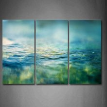 HD print 3 panel Water  Printed Canvas Wall Painting Room Large Single Picture Still Life