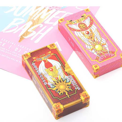 1 комплект Аниме Сакура Cardcaptor Clow Card косплей реквизит Сакура КИНОМОТО карта Hope Card Cardptor карты с Сакурой Таро аниме периферийный
