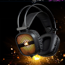цены Gaming Computer Headset Bass With Microphone Stereo Wired Gaming Headphones Game Headset Over Ear PC Gamer Laptop