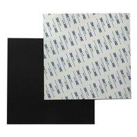 ENÉRGICO Novo Flex Magnética Cama Quente Calor Fita de Papel com 3 Adesiva 3M Para 3D Impressora de Cama Quente Quadrado 203/220/235/310/330/350mm|Peças e acessórios em 3D| |  -