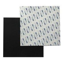 Энергичный новый гибкий магнитный печати лента Тепловая бумага с 3 м клейкой ленты для 3D-принтеры очаг квадратный 203/220/235/305/330/350 мм