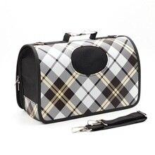 Mylb sacs pour chiens, Oxford, sac à dos, souple, de voyage, à bandoulière pour animaux domestiques, pour chiots, petits chats, porteuse respirant en plein air
