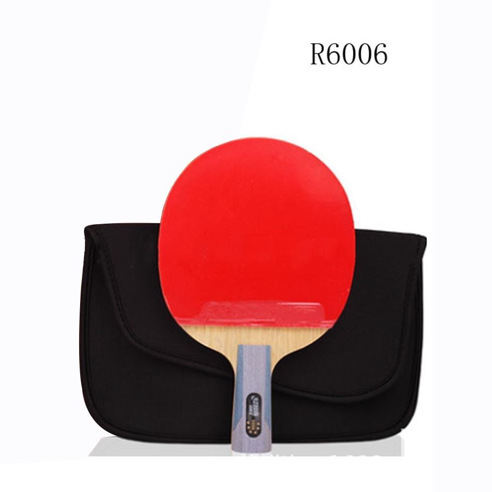 Sports de plein air HobbyLane 1 PC 5 étoiles carbone Tennis de Table raquette ensemble léger puissance Tennis de Table raquette Ping-Pong Paddle