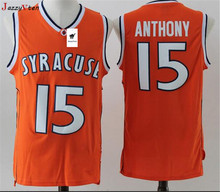Cheap Retro Carmelo Anthony Basketball Jerseys 15  Syracuse University  Throwback Knitted Embroidery High Quality Shirts 75412d9bb