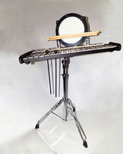 Combo Glockenspiel Practice drum with Carrier and Stick Percussion musical instruments professional