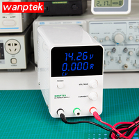 Wanptek DC Power Supply Adjustable Laboratory Digital Voltage Regulator Bench DC Power 30V/60V 5A/10A Output drop shipping