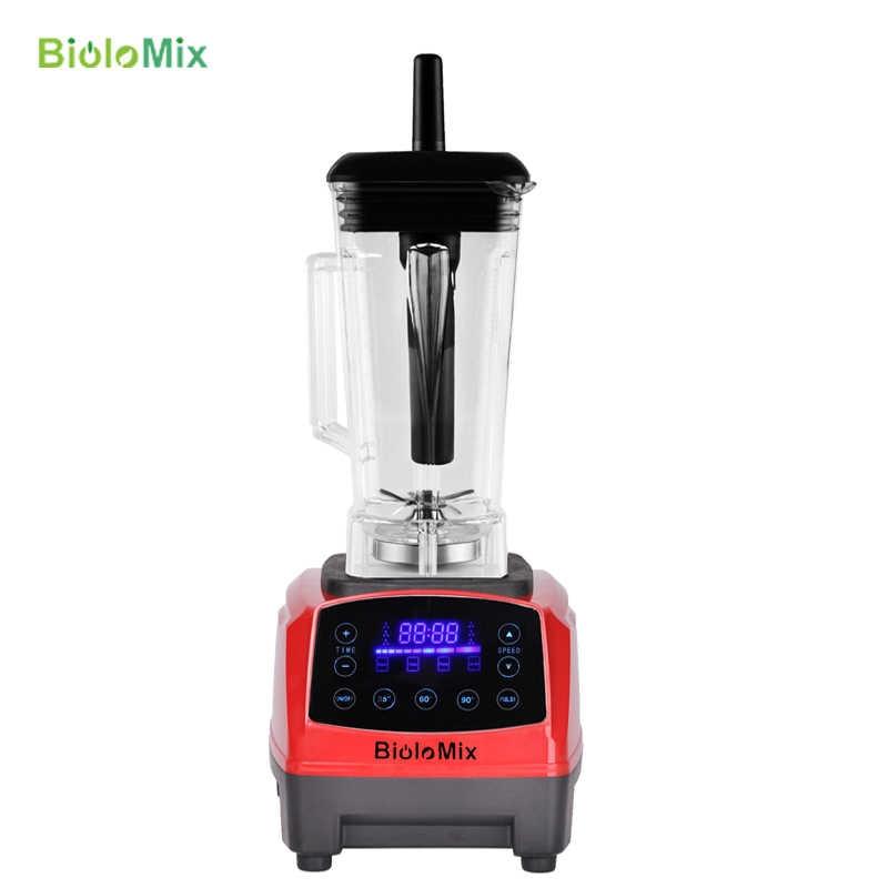 Touchpad Digital Preset Timer Automático 3HP 2200 w BPA LIVRE 2L profissional smoothies misturador juicer liquidificador processador de alimentos frutas