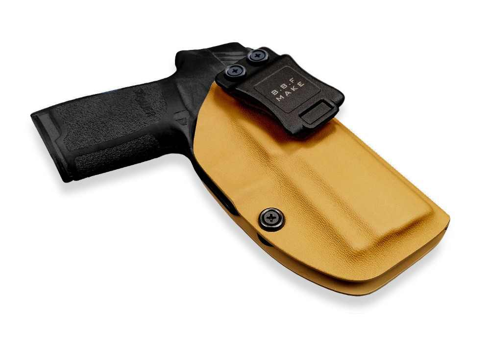 B B F Make IWB KYDEX Holster Fit: Sig Sauer P320 Carry/Compact Gun Holster  Inside Concealed Waist Carry Holsters Pistol Case