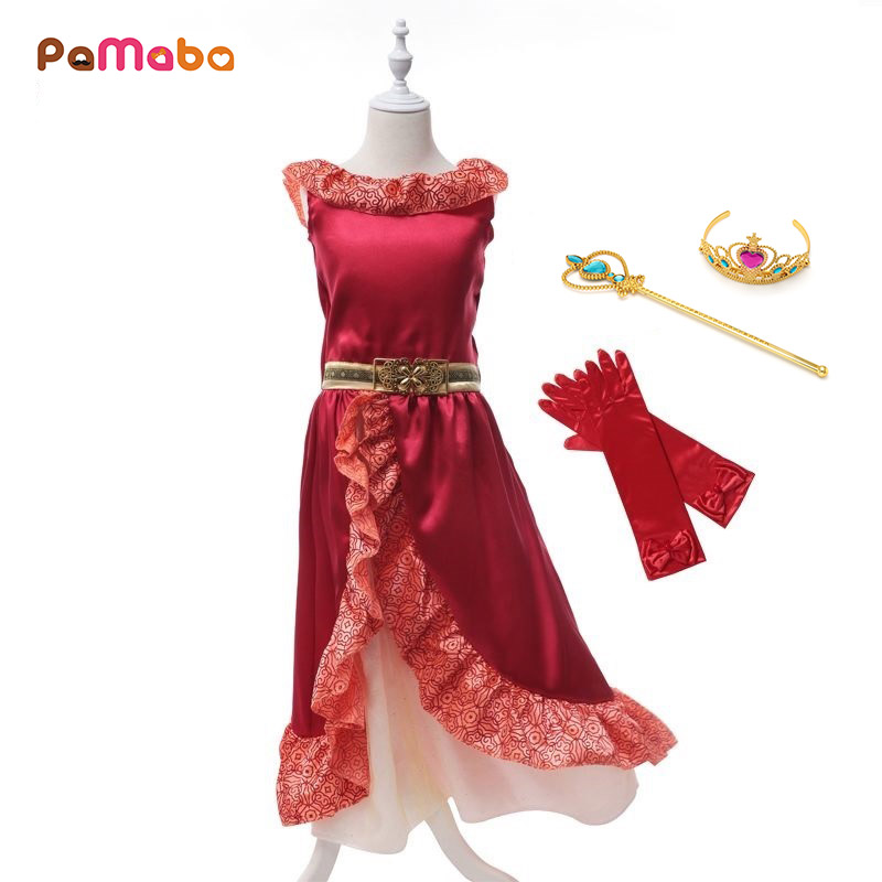 c1092f5c71ed PaMaBa καλοκαίρι κορίτσια μωρών Elena φόρεμα κινουμένων σχεδίων ...