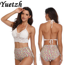 New sexy high waist bikins set swimwear bikini swimsuit swimwear Russian swim swimming suit beachwear bathing wear woman(China)