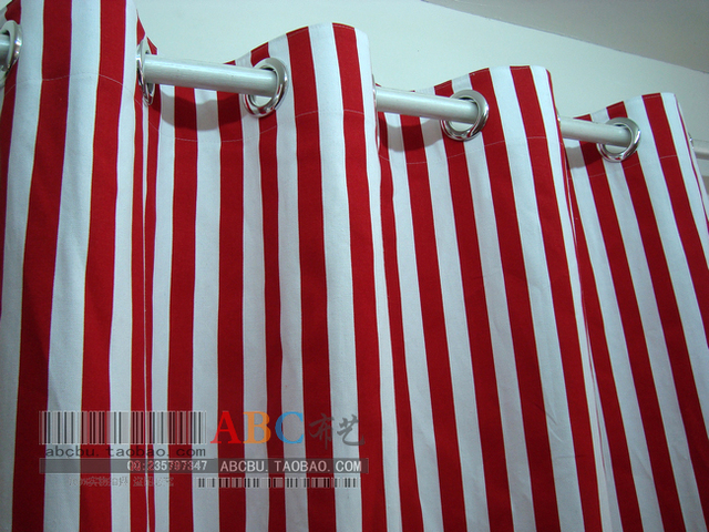 Ls cl 015 banda Rossa e bianca 2.5 cm 100% tela di cotone balcone ...