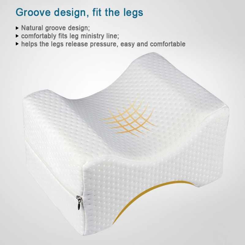 Устойчивая подушка для ног с памятью u-образная хлопковая белая Удобная молочная Подушка с защитой от рефлюкса многослойная для беременных женщин