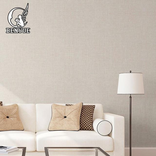 Современные однотонные льняные обои высокого качества гостиная бесшовная текстильная Серия настенная ткань для стен домашний декор
