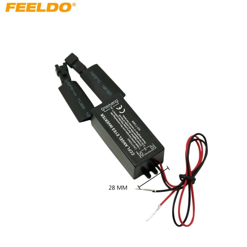 FEELDO 10Pcs Spares DC 12V Inverter Ballast For CCFL Angel Eyes Light Halo Ring FD 3956
