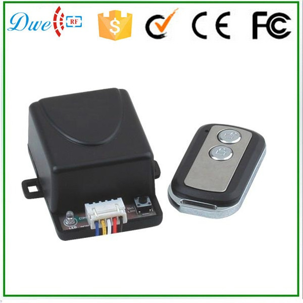 DWE CC RF 433mhz one way output fixed code remote control for access control system proteco ptx433305 compatible replacement remote control 433mhz fixed code