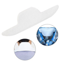 8 piezas Sweat Collar desechable Pad adhesivo corbata antitranspirante guardia hoja Liner vestido Shield desodorante sudor Unisex TSLM2