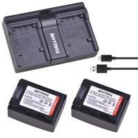 2 Pcs IA-BP105R IABP105R IA-BP210R IABP210R Bateria + Carregador Dual USB para SAMSUNG SMX-F500 F501 F530 HMX-F900 F910 F920 H320