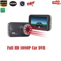 9 Pcs IR Light Night Vision Novatek NTK96223 FHD 1080P G Sensor 170 Degree Car DVR