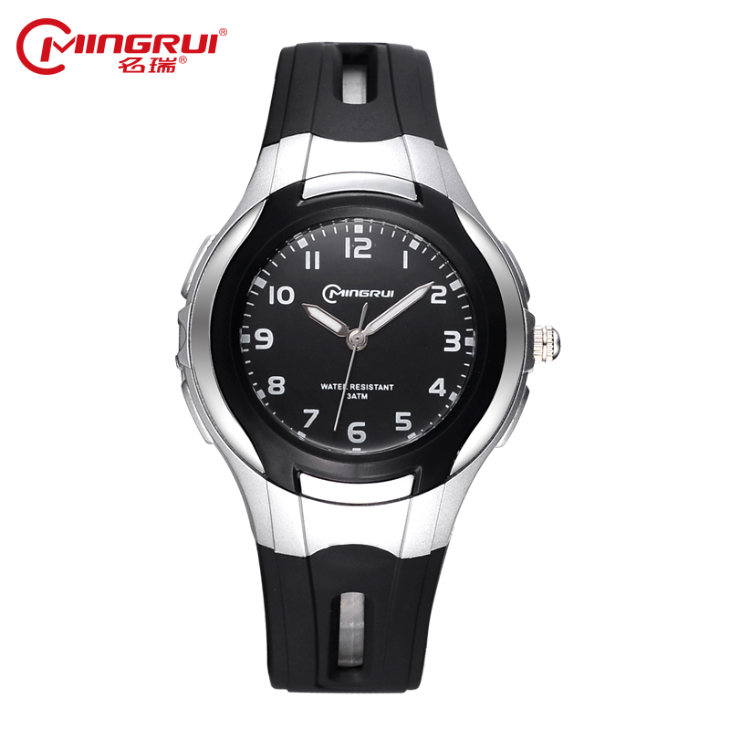 MINGRUI Fashion Casual Children Watches Boy&Girls Hour Jelly Silica Gel Kids Clock Waterproof Quartz Wristwatches Students Watch fashion brand children quartz watch waterproof jelly kids watches for boys girls students cute wrist watches 2017 new clock kids