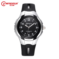 MINGRUI Fashion Casual Children Watches Boy Girls Hour Jelly Silica Gel Kids Clock Waterproof Quartz Wristwatches