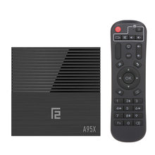 A95X F2 TV Box Android 9,0 Cortex-A53 Quad-core 4 K 4GB32GB 64 GB caja de TV 2,4G WiFi reproductor de vídeo con pantalla de tiempo para Smart TV(China)