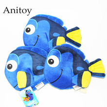 3pcs/lot Anime Cartoon Finding Nemo Clownfish Dory Plush Coin Bag Soft Stuffed Animal Dolls for Children Kids' Toy AP0220