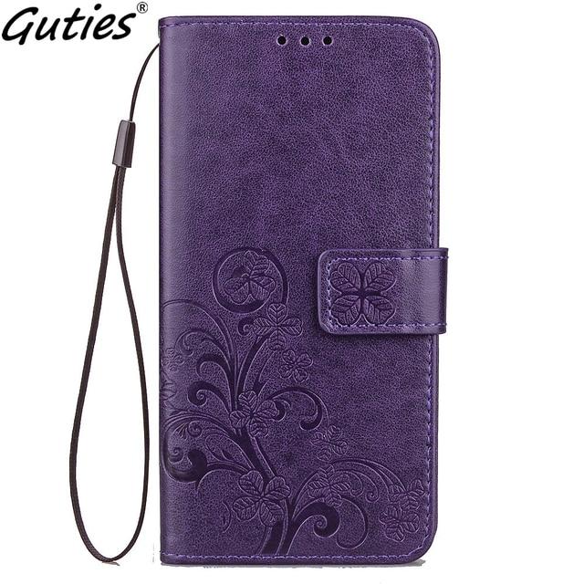 Guties de cuero teléfono caso de cartera para Xiaomi Max 2 3 A2 Lite Flip soporte libro Capa suave de TPU para Redmi 6 6A Pro S2