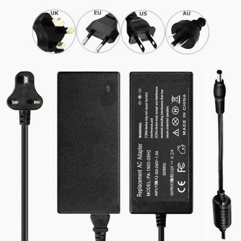 Adaptador AC Para Panasonic Toughbook CF-52 Series Laptop Charger Power Supply Cord 5.5*2.5 milímetros