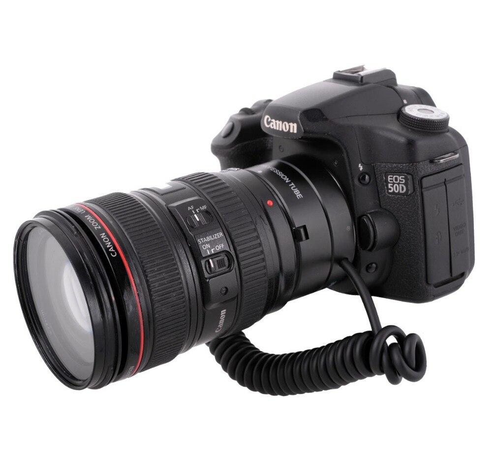 Mcoplus Meike MK-C-UP Auto Macro Tube d'extension AF adaptateur inverse pour appareil photo Canon EOS EF caméra de montage 6D 7D 60D 70D 1100D 650D - 5
