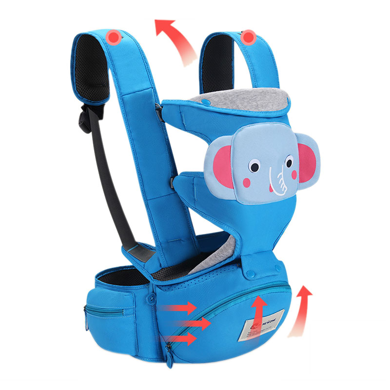 2018 New Baby Carrier 0-30 Months Breathable Comfortable Babies kids Carrier Infant Backpack Baby Hip Seat Waist Stool