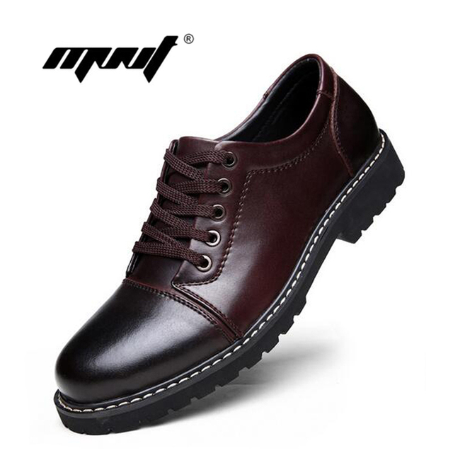 Handmade Shoes Men Full Grain Leather Men Boots, Super Cool Ankle Boots ,High Quality Autumn Men Working Shoes