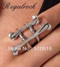 Regalrock Double Bone Knuckle Ring
