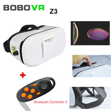 Hot sale! BOBOVR Z3 Xiaozhai III 3D VR Video Glasses Virtual Reality VR Video Game Glasses For 4-6″ Smartphone + New Bluetooth C