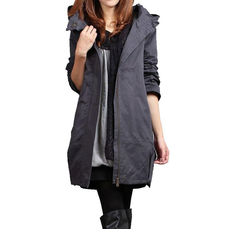 otoo invierno abrigos de maternidad clothing embarazo para las mujeres embarazadas desgaste zanja elegante