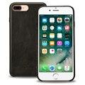 Jisoncase caja del cuero genuino para iphone 7 plus cubierta de lujo originales caja del teléfono de cuero ultra sim para iphone 7 plus 5.5 pulgadas