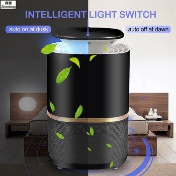 Lámpara antimosquitos fotocatalizador de 3W y 220 V, luz repelente de insectos, Control electrónico de plagas, lámpara antirrayos UV