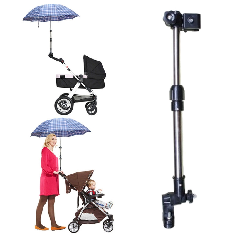 Umbrella Holder Baby Pram Stroller Accessories Umbrella Holder Wheelchair Umbrella Stretch Stand