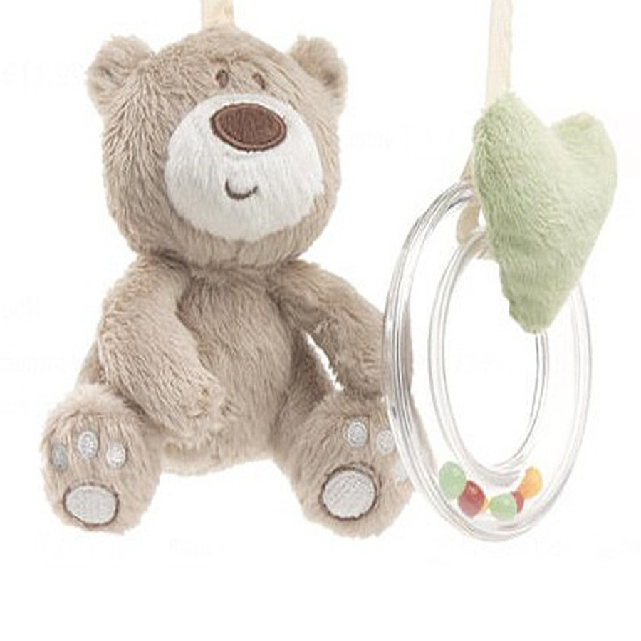 Baby Crib Baby Bed Musical Mobile Wind Bell Bear Rabbit Shaker Educational Babies Animal 70C0533
