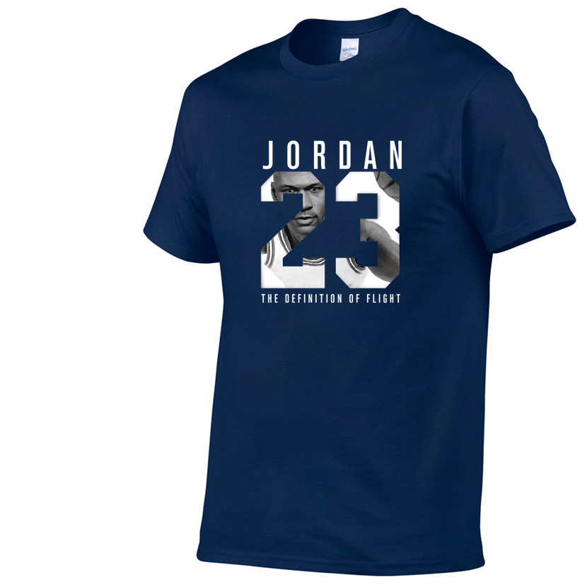 New Brand Hot Sale New Tee Jordan 23 Print Men Swag T-Shirt Top Quality Cotton Jordan 23 Hip Hop Short Sleeve T Shirt Men