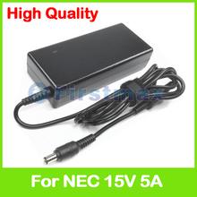 15 V 5A laptop AC zasilacz ładowarka do Toshiba ADP-75KB B PA3378E-1ACA PA3283U-4ACA PA3378E-3AC3 PA3469E-1AC3 PA3755U-1ACA tanie tanio Dla toshiba Uniwersalny Firstmax For all