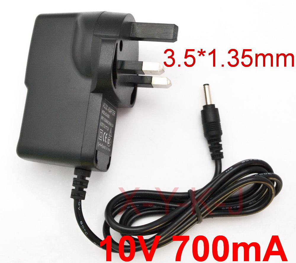 US $123 5 5% OFF|50PCS 10V 700mA 0 7A Universal AC DC Adapter Charger UK  plug For Lego Mindstorms EV3 NXT 45517 Robot Power Supply-in AC/DC Adapters