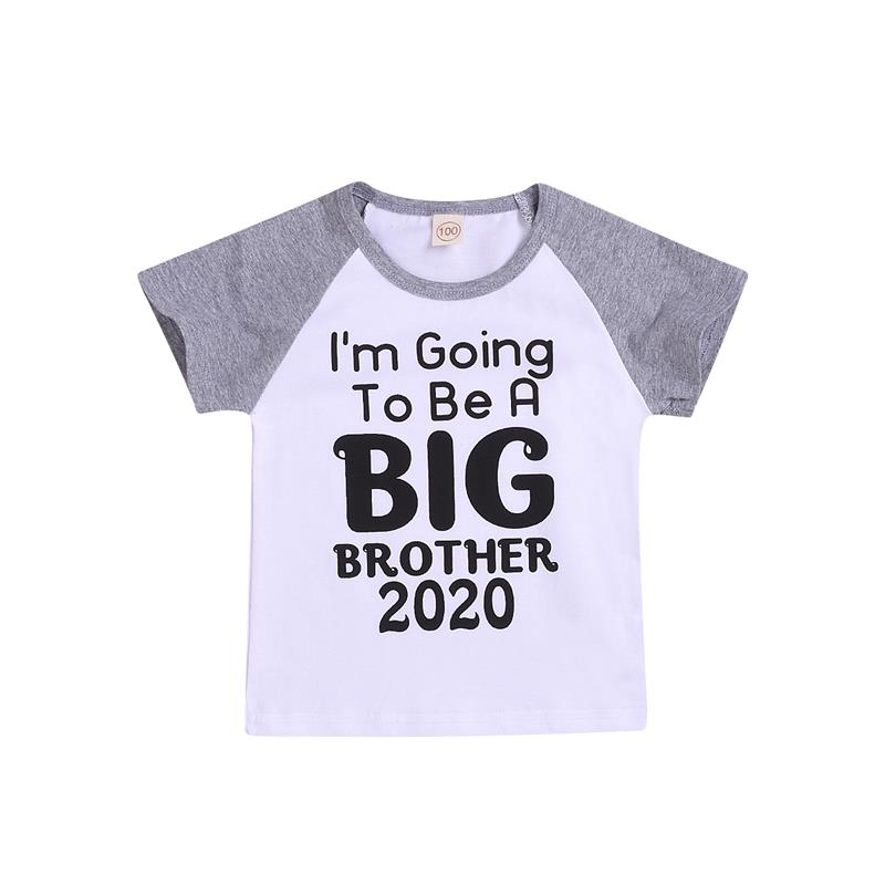 T-Shirt Toddler Going-To-Be Infant Baby-Boys Tops Short-Sleeve I'm Tee