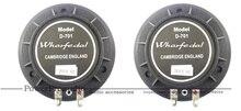 2 قطعة/الوحدة Hiqh جودة استبدال الحجاب الحاجز ل Wharfedale تيتان D 701
