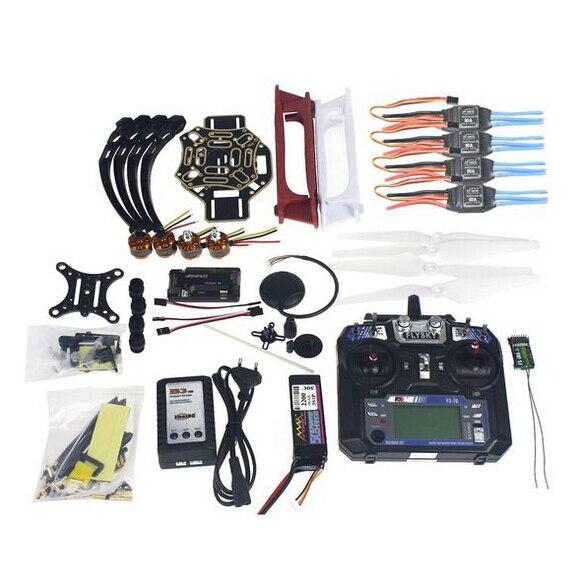 Полный Набор RC Drone Квадрокоптер 4-осный Самолет Комплект F450-V2 Рамка GPS APM2.8 Управления Полетом Камеры Gimbal PTZ F02192-X